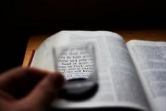 Только Библия должна быть нашим Авторитетом...